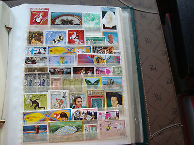 MIDDLE EAST - 37 stamps canceled (any state) stamp