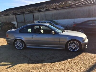 Bmw 320 Cd M Sport 2003 Grey Diesel Coupe Manual 2 Door Mot Till January