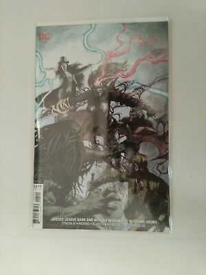 justice league dark and wonder woman the witching hour 1 variant