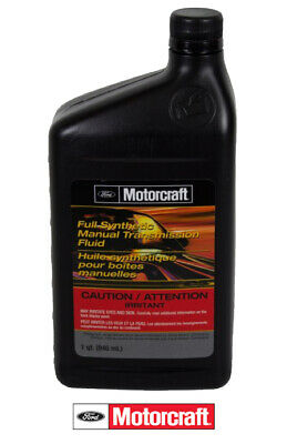 1 Quart Full Synthetic Manual Transmission Fluid OEM FORD Motorcraft XTM5QS