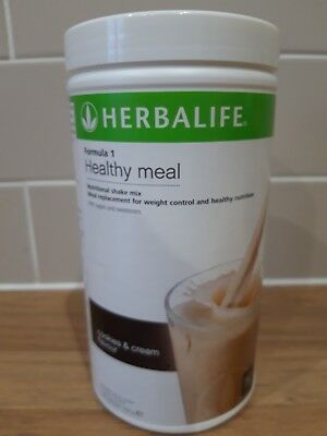 Herbalife Formula 1 healthy meal Cookies & cream Shake meal replacement