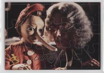 1996 Inkworks The Adventures of Puzzle Cards Pinocchio Gepetto #P3 d8k