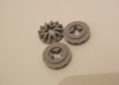 LEGO PART 73071 LIGHT GREY TECHNIC GEAR DIFFERENTIAL OLD STYLE 28 TEETH