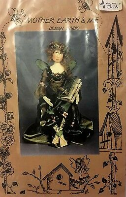 'fairie Tales' Cloth Doll Pattern By Mother Earth & Me 'uncut'