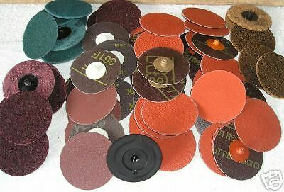 Pack of 3M 75mm Roloc discs & holder, low prices (41z)