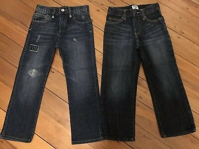 2 Pairs Of Jeans Size 5 Osh Kosh And Seed Like New