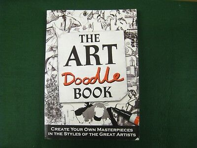The Art Doodle Book In The Style Of The Great Artists