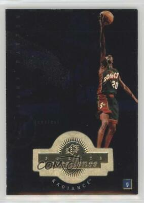 1998-99 SPx Finite Radiance #210 Gary Payton Seattle Supersonics Basketball Card