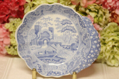 """Antique, Spode, """"Tower"""" pattern Shell Form Bowl"""