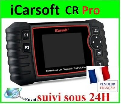 VALISE ICARSOFT CR PRO VOITURE SCANNER Multimarque EN FRANCAIS - 100% ORIGINAL