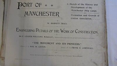 Port of Manchester: Engineering Details of The Works of Construction Book (Fair)
