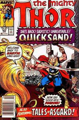 Thor (1966 series) #402 in Near Mint minus condition. Marvel comics [*9h]