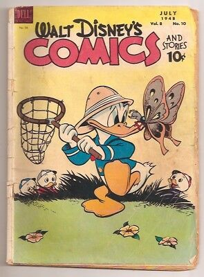 D779 Walt Disney Comics Are Stories 94 Dell Golden Age Comic Book