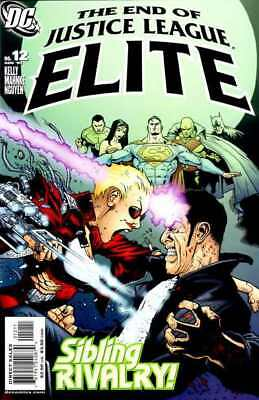 Justice League Elite #12 in Near Mint + condition. DC comics [*vj]