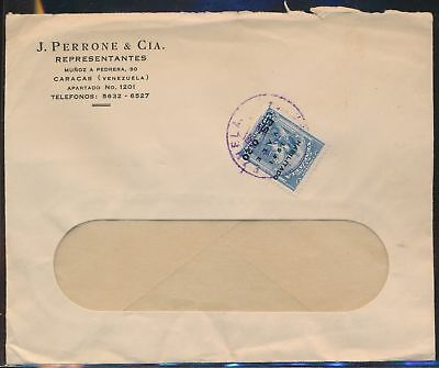 LJ64652 Venezuela 1941 fine cover with nice cancels used