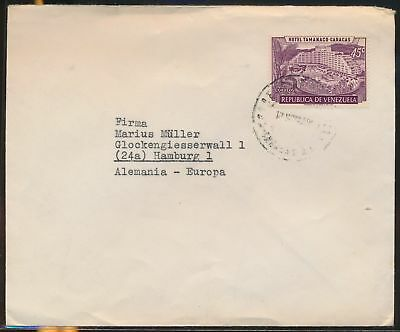 LJ64657 Venezuela Germany fine cover with nice cancels used