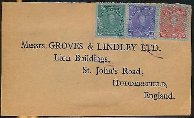 LJ64678 Venezuela England fine cover with nice cancels used