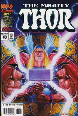 Thor (1966 series) #475 in Near Mint condition. Marvel comics [*jw]