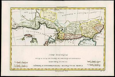1780 Antique Map NORTH AFRICA MOROCCO LIBYA ALGERIA Barbarie by Bonne AFRIQUE (7