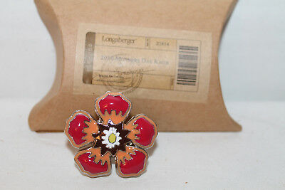 New Longaberger 2010 Mother's Day Knob  With Box For Basket