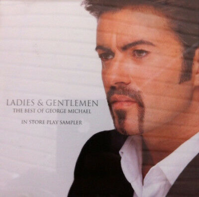 George Michael ‎Ladies & Gentlemen The Best Of  In Store Play Sampler CD