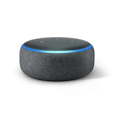 Amazon Echo Dot (3rd Generation) - Smart Speaker with Alexa - Charcoal