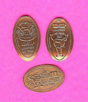Nascar Racing M&M'S Toyota Kyle Busch Elongated Smashed Penny Lot