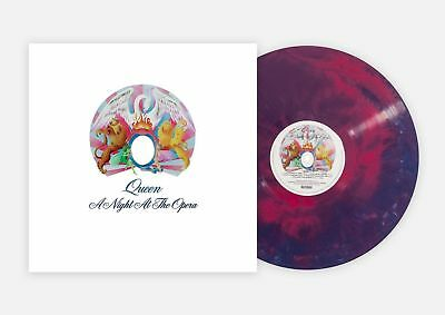 Queen A Night At The Opera Limited Vmp Vinyl Coloured Us Deluxe
