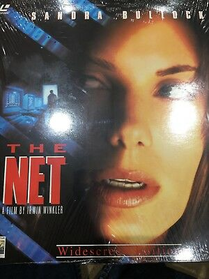 The Net, A Film By Irwin Winkler, Laser Disc, Widescreen Edition, PAL format