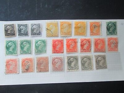 Canada Small heads Selection-Types/shades?-£££'s-Read description/scans.Lot 2/3.