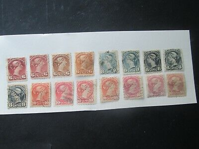 Canada Small heads Selection-Types/shades?-£££'s-Read description/scans.Lot 3/3.