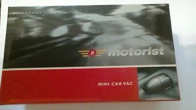 Brand New Boxed Debenhams Mini Car Vacuum