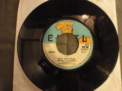 """7"""" The Ambassadors*Rice And Peas (aka Dandy Shandy)/All The While*Camel*Reggae"""