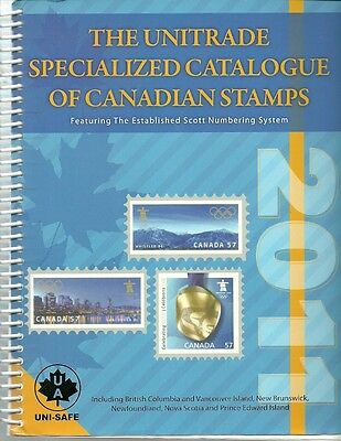 2011 Unitrade Specialized Catalogue of Canadian Stamps