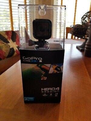 GoPro Hero4 Session Waterproof Camera 8mp (black) New in Box, Not Used