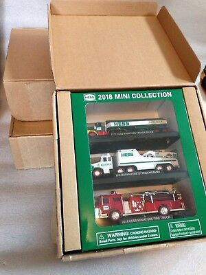 2018 Hess Mini Truck Collection-Brand * New in Box * Sold Out By Hess