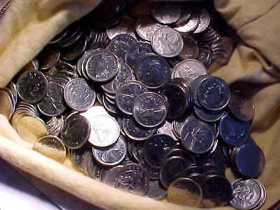 Large Bulk Lot of Canadian Coins--$100 face value