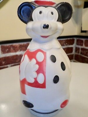 Vintage 10-Inch  Mickey Mouse Nabisco Puppets Wheat Puff Cereal Bank  1966