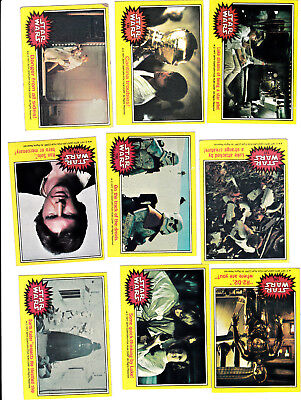 1977 Topps STAR WARS 3rd Series (yellow) Trading Card Complete Set (66 Cards)