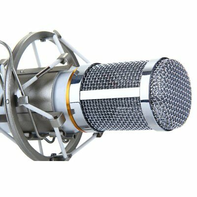 Professional Condenser Microphone Kit Complete Set for Studio Recording BM800 UK
