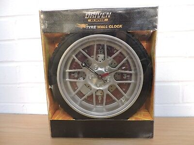 Driven By Speed - Tyre Wall Clock