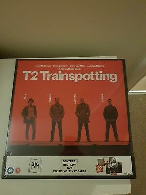 T2 Trainspotting Big Sleeve Edition Blu Ray & DVD BRAND NEW
