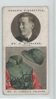 1927 Tobacco Base #47 Mr P Woodland (Mr H Liddell's Colours) MiscSports Card