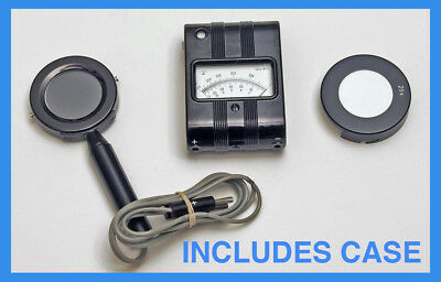 Gossen Tri Lux Foot Candle Meter INCLUDES CASE and 20X FILTER!!