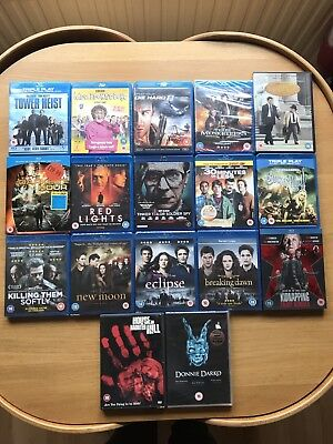 Job Lot Of 14 Blu-ray And 3 DVDs