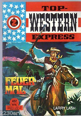 TOP WESTERN EXPRESS 452 / Larry Lash / (1962-1975 Indra-Verlag)