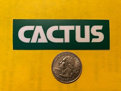 Decal Cactus Drilling Oilfield Services Gas Well Oilwell Oil Hardhat Usa Rig Ok