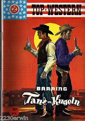 TOP WESTERN EXPRESS 207 / Geo Barring (1962-1975 Indra-Verlag)