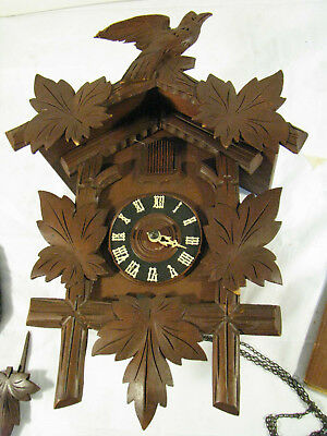 Black Forest COOKOO Cuckoo Clock - for parts/repair