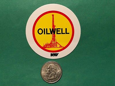 National Oilwell Nov Oilfield Gas Well Drilling Oil Decal Hard Hat Mission Dnow